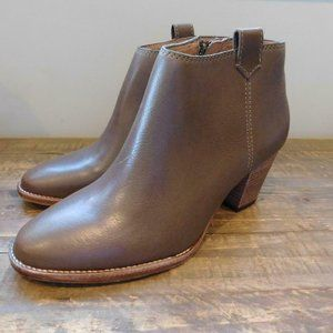 Madewell The Billie Boots Wet Pebble Gray